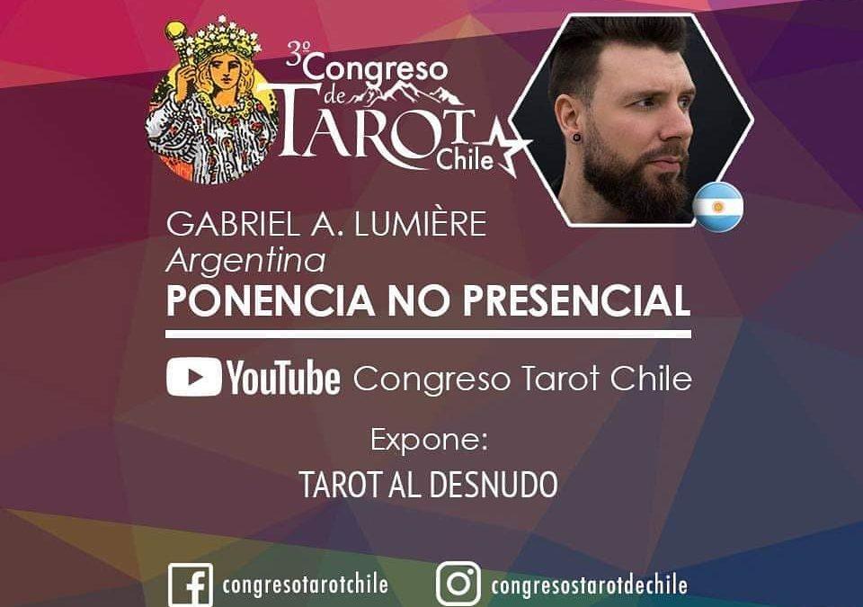 3º Congreso Internacional de Tarot Chile: Tarot al Desnudo