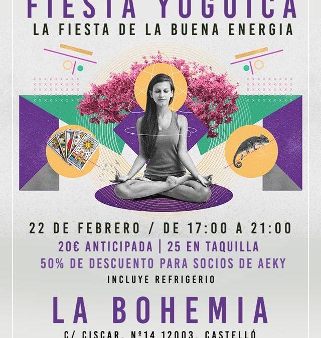 22 de Febrero: Tarot en Fiesta Yógica – Castellón