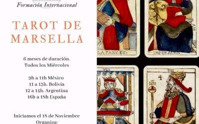 FORMACIÓN INTERNACIONAL ONLINE / TAROT DE MARSELLA