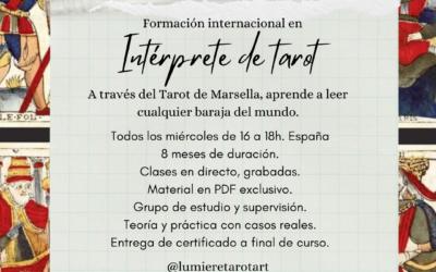 Formación Internacional: Intérprete de Tarot 2021/2022